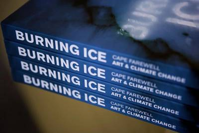 Burning Ice: Art & Climate Change book cover