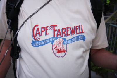 Cape Farewell tshirt