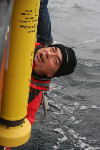 argo float launch