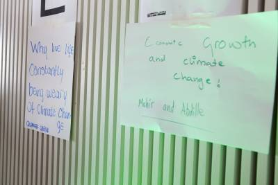 youth climate workshop