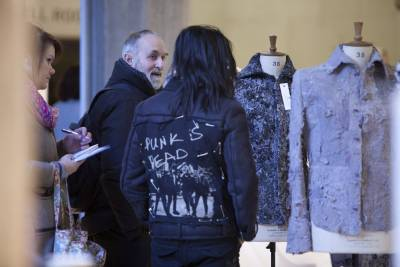 fashion exhibition installation view