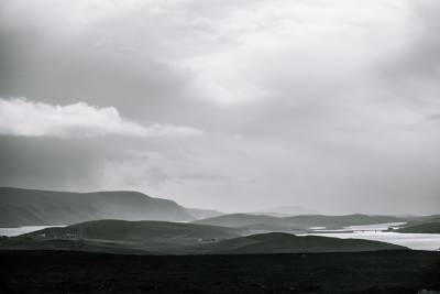 vast landscape in Scotland