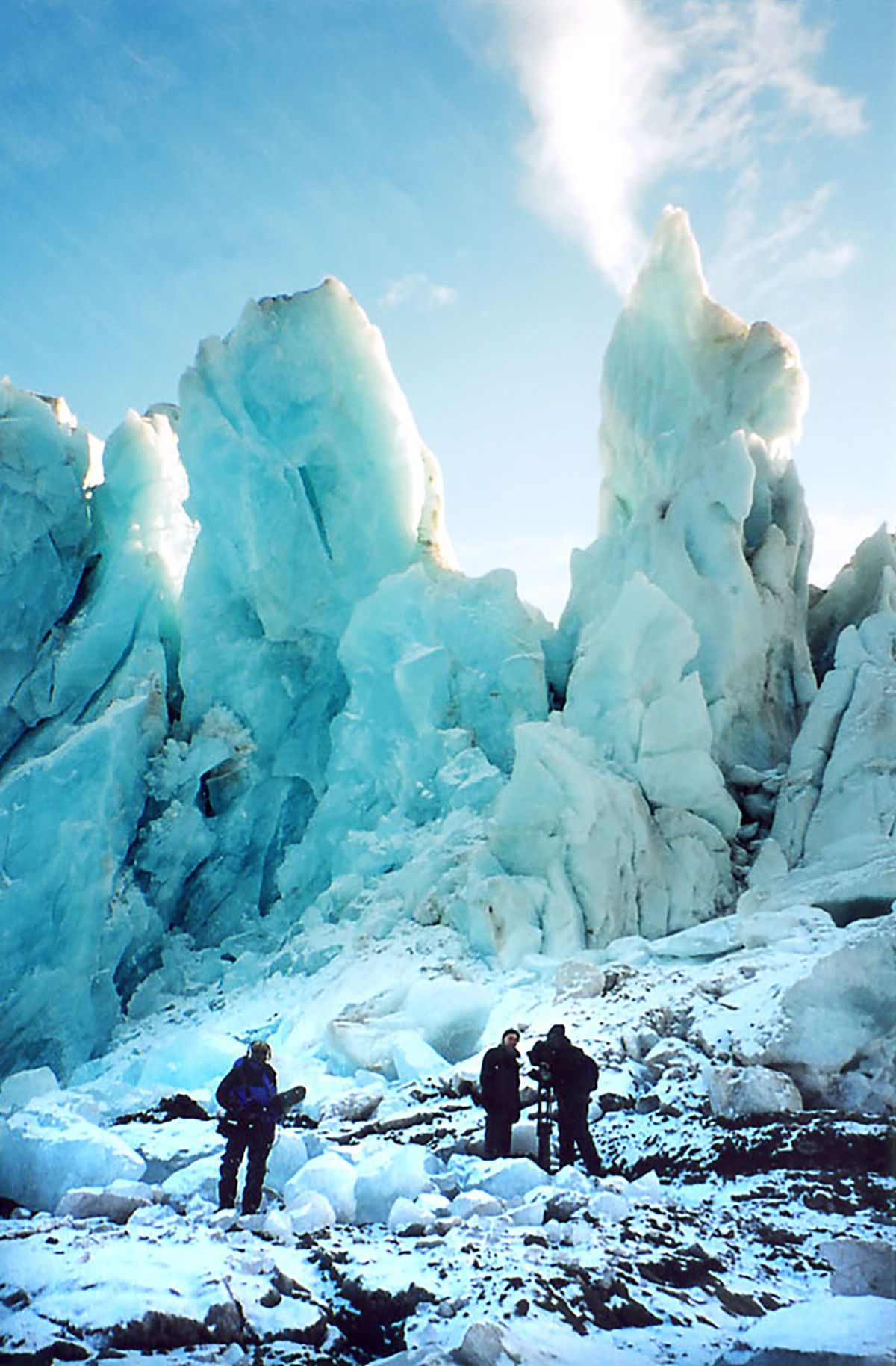 filming in the High Arctic