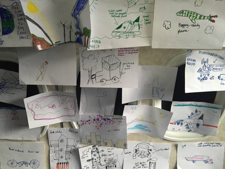 notes, ideas and sketches