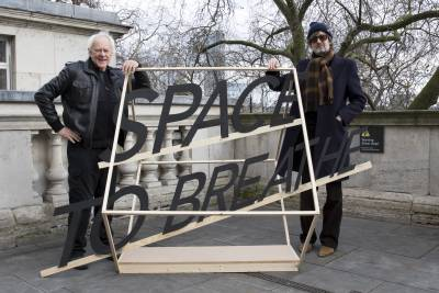 Space to Breathe signage