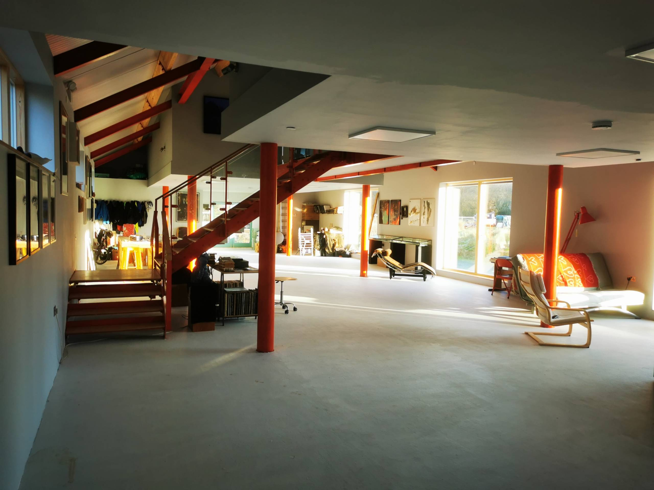 interior view of The WaterShed studio