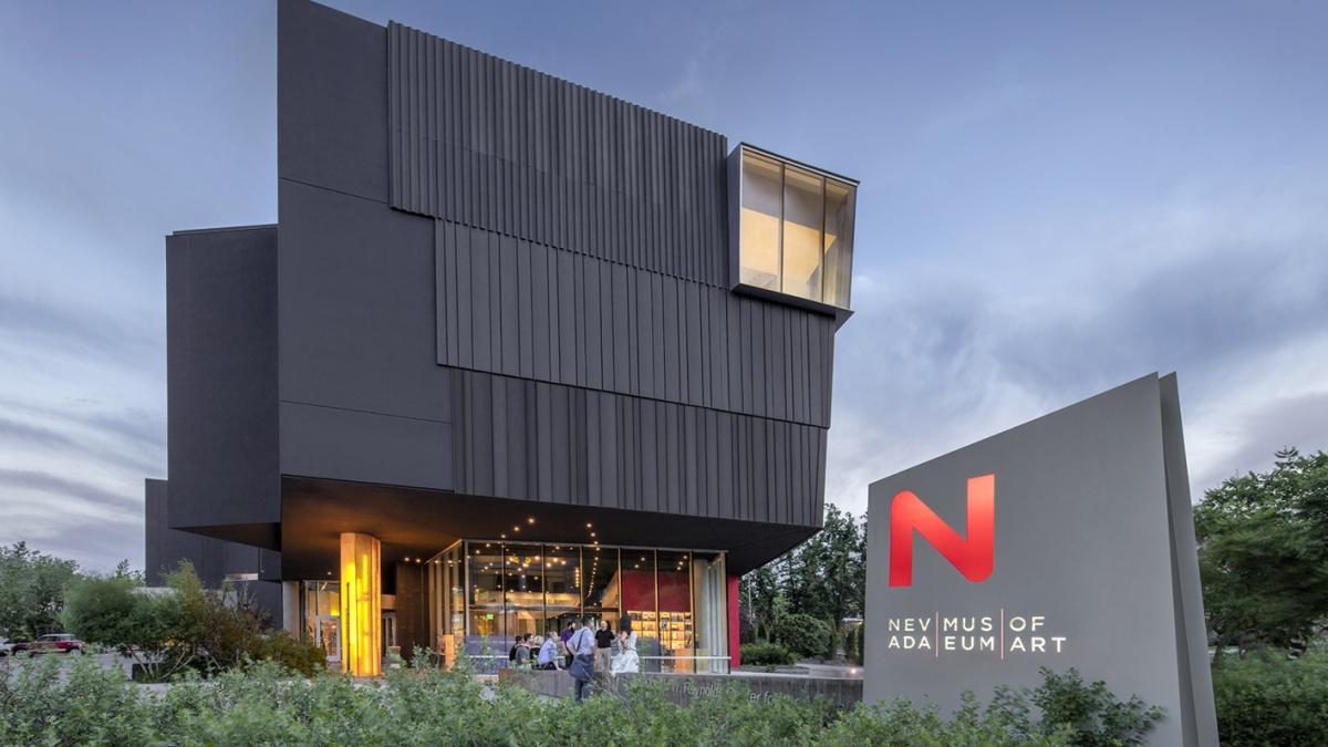 Nevada Museum of Art building facade