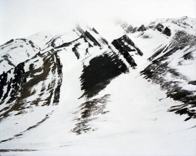 abstract Arctic landscape