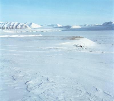 vast arctic landscape