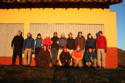expedition crew portrait