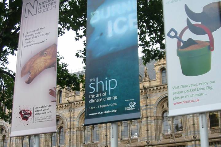 exhibition outdoor banners